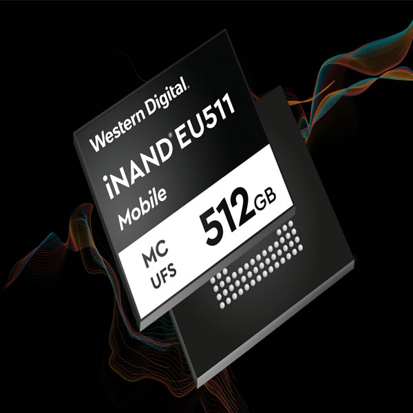 Western Digital disponibiliza o iNAND MC EU511 EFD, nova unidade flash para impulsionar a era 5G